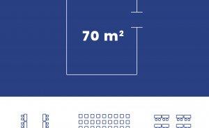 Przestrzeń 1 - Sala 4 -  70 m2 #6