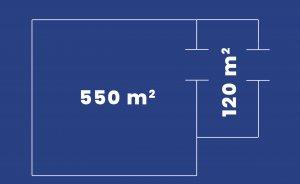 Przestrzeń 3 - 550 m2 +133 foyer #8