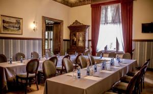 Sala niebieska w historycznych częściach Pałacu Hardta #6
