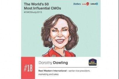 Przedstawicielka Best Western na liście najbardziej wpływowych osób branży marketingowej
