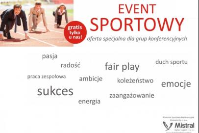 Event sportowy w Hotelu Mistral Sport