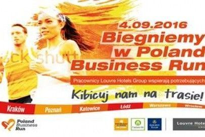 Pracownicy Louvre Hotels Group  pobiegną w Poland Business Run