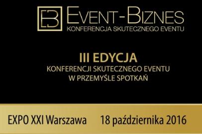 Program III edycji konferencji Event Biznes