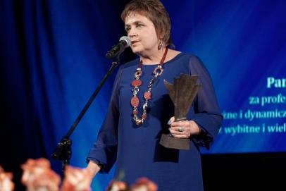 Żaneta Berus uhonorowana nagrodą Europejskiego Klub Biznesu