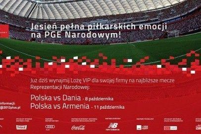 Jesień pełna piłkarskich emocji na PGE Narodowym!