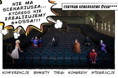 Superbohaterowie w Centrum Kongresowym Ossa. Czy to możliwe?