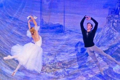 """Balet romantyczny """"Giselle ou Les Wilis"""" podczas XXIII Forum Humanum Mazurkas."""