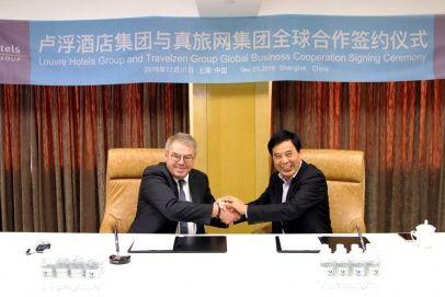 Nowi współpracownicy - Louvre Hotels Group i Travelzen podpisali umowę partnerską