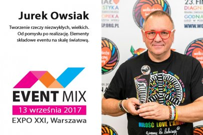 Konferencja EVENT MIX pod patronatem Jurka Owsiaka