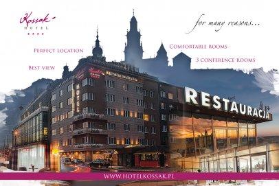 Konferencja w eleganckich wnętrzach w Hotelu Kossak