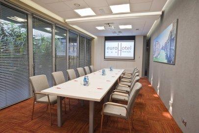 EuroHotel Swarzędz - konferencja w jednej z siedmiu nowoczesnych sal.