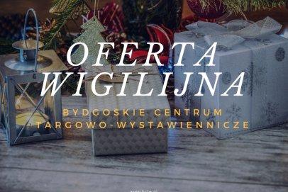 Ho, ho, ho, Bydgoskie Centrum Targowo-Wystawiennicze poleca się na firmowe Wigilie