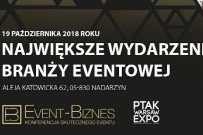 19 października odbędzie się kolejny Event Biznes 2018!