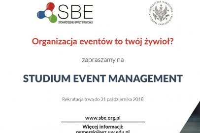 Rusza kurs Event Managerów!