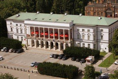 Organizacja spotkania, wydarzenia w historycznym Pałacu Lubomirskich w centrum Warszawy