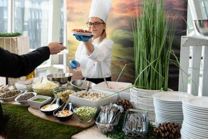 Mazurkas Catering 360° - propozycja wyjątkowego menu konferencyjnego