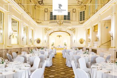 Ostatnie wolne terminy na wynajem Sali Ludwikowskiej w Polonia Palace Hotel