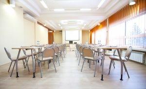 zdjęcie sali konferencyjnej, Centrum Szkoleniowe Jałowcowa Góra, Dobczyce
