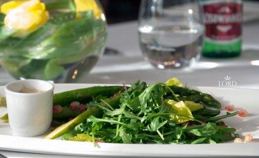 """Hotel Lord - Restauracja Kryształowa """"Szparagi w mandarynkowym aromacie"""""""