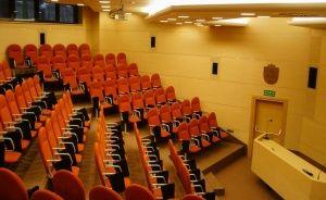 zdjęcie sali konferencyjnej, Maltańskie Centrum Szkoleniowo Konferencyjne, Poznań