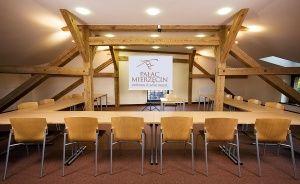 zdjęcie sali konferencyjnej, Pałac Mierzęcin Wellness & Wine Resort, Dobiegniew