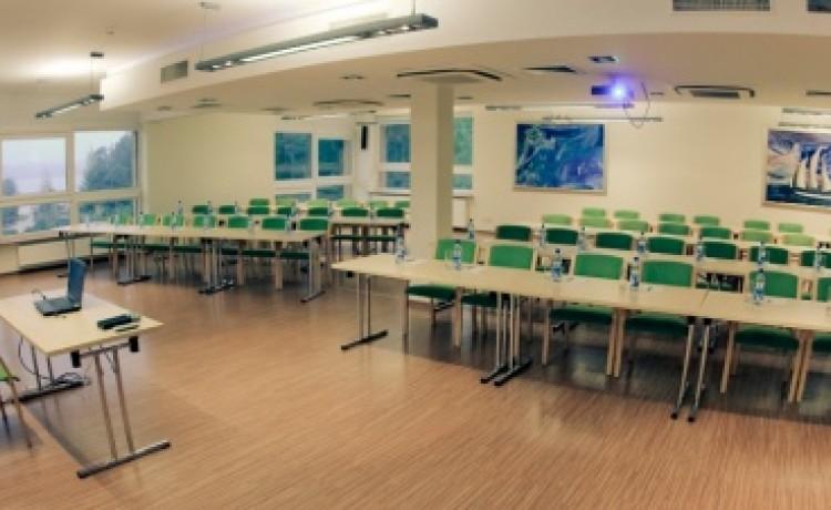 zdjęcie sali konferencyjnej, Centrum Konferencyjno Rekreacyjne MOLO, Smardzewice