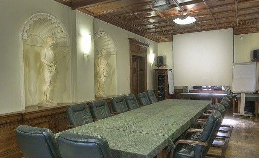 zdjęcie sali konferencyjnej, PAŁAC BAGATELA, Ostrów Wlkp.