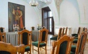 zdjęcie sali konferencyjnej, Centrum Konferencyjne Willa Decjusza, Kraków
