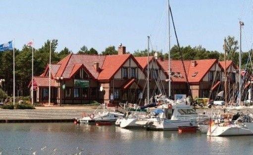 zdjęcie obiektu, Hotel Bakista w Łebie nad morzem obok portu jachtowego Łeba, Łeba