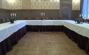 zdjęcie sali konferencyjnej, Villa Pallas, Olsztyn