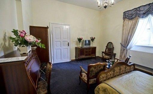 zdjęcie pokoju, Pałac w Racocie Ośrodek Szkoleniowo-Rekreacyjny, Kościan
