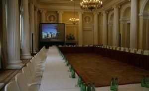 zdjęcie sali konferencyjnej, Pałac Prymasowski, Warszawa