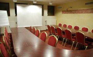 zdjęcie sali konferencyjnej, Hotel Przepióreczka, Nałęczów