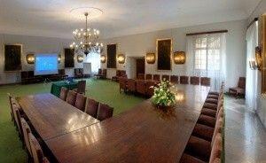 zdjęcie sali konferencyjnej, Zamek w Baranowie Sandomierskim, Baranów Sandomierski