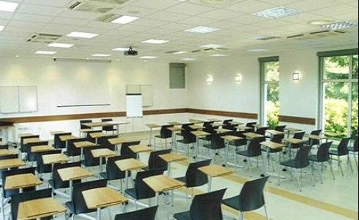 zdjęcie sali konferencyjnej, Lipowy Przylądek- szkolenia i wypoczynek, Serock