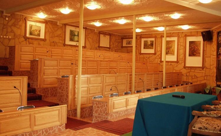 zdjęcie sali konferencyjnej, Pałac Magnat, Torzym