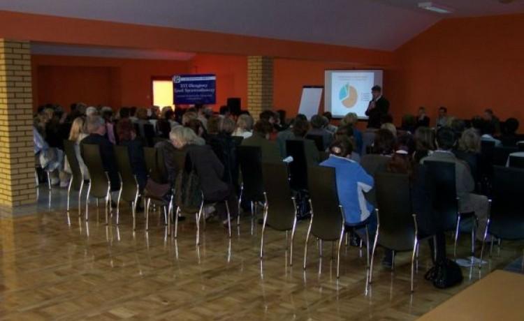zdjęcie sali konferencyjnej, Centrum Konferencyjne Ambasador, Płoty