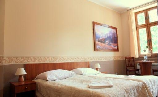 zdjęcie pokoju, Pałacyk Łąkomin, Lubiszyn