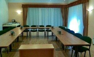 zdjęcie sali konferencyjnej, Hotel Sypniewo, Margonin