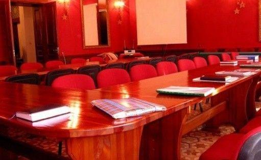zdjęcie sali konferencyjnej, Pałac Bałoszyce, Susz