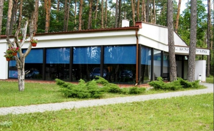 zdjęcie sali konferencyjnej, Wioska Turystyczna Wilkasy sp. z o.o., Giżycko