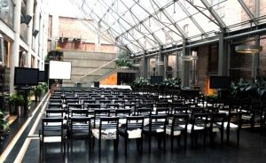 zdjęcie sali konferencyjnej, Monopol, Katowice