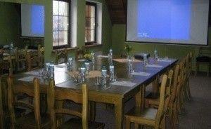 zdjęcie sali konferencyjnej, Hotel Restauracja Jaś Wędrowniczek, Rymanów