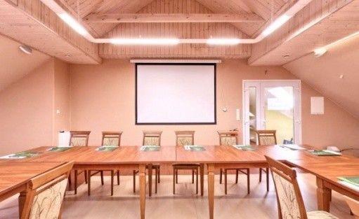 zdjęcie sali konferencyjnej, W krainie Alicji, Nałęczów