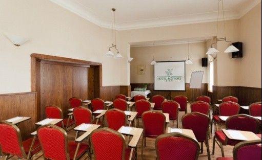zdjęcie sali konferencyjnej, Hotel Rzymski, Poznań