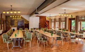 zdjęcie sali konferencyjnej, Hotel*** Dworek Wapionka, Górzno