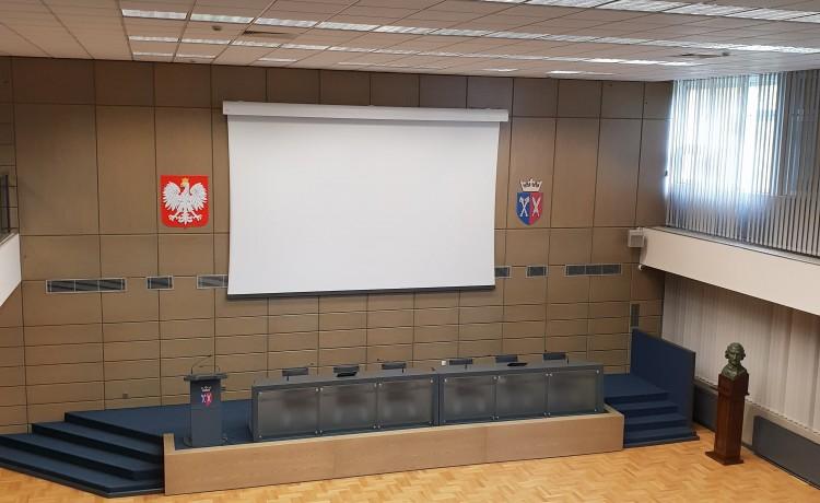 Sala konferencyjna Centrum Kongresowe Uniwersytetu Rolniczego / 0