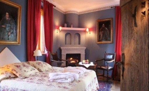 zdjęcie pokoju, Zamek Korzkiew, Przybysławice