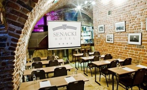 zdjęcie sali konferencyjnej, Hotel Senacki, Kraków