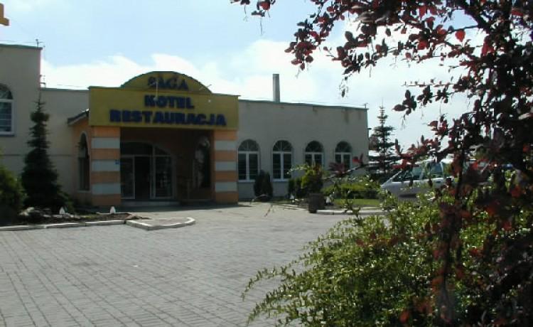 """zdjęcie obiektu, Hotel Restauracja """"SAGA"""", Zamość"""